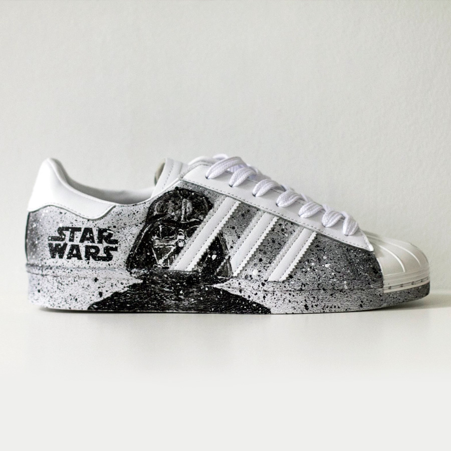Adidas Superstar Star Wars Custom Shoes
