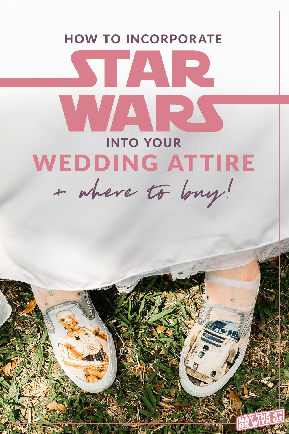 Star Wars wedding shoes