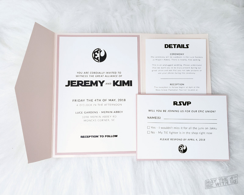 The Best Star Wars Wedding Details You Ll Want For Your Special Day