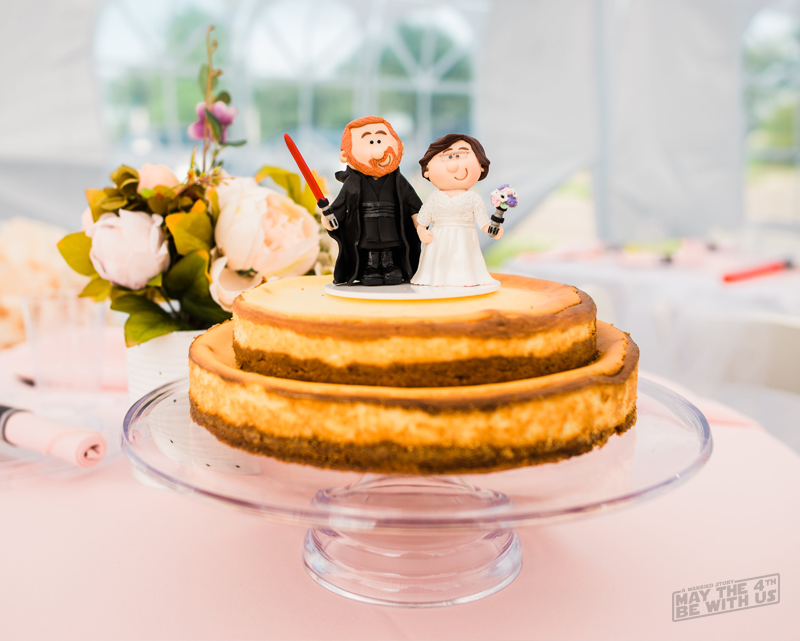 Star Wars Custom Wedding Cake Topper - Kimi and Jeremy