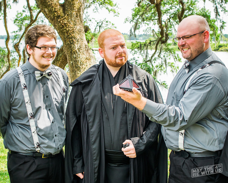 Star Wars Groomsmen Attire - Kimi and Jeremy