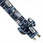 Star Wars Suspenders and Bow Tie Blue