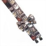 Star Wars Suspenders and Bow Tie Gray