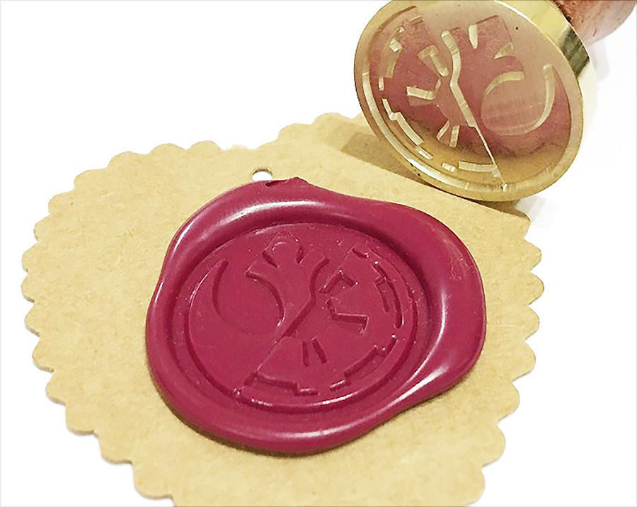 Star Wars The Force Wax Seal Stamp Kit