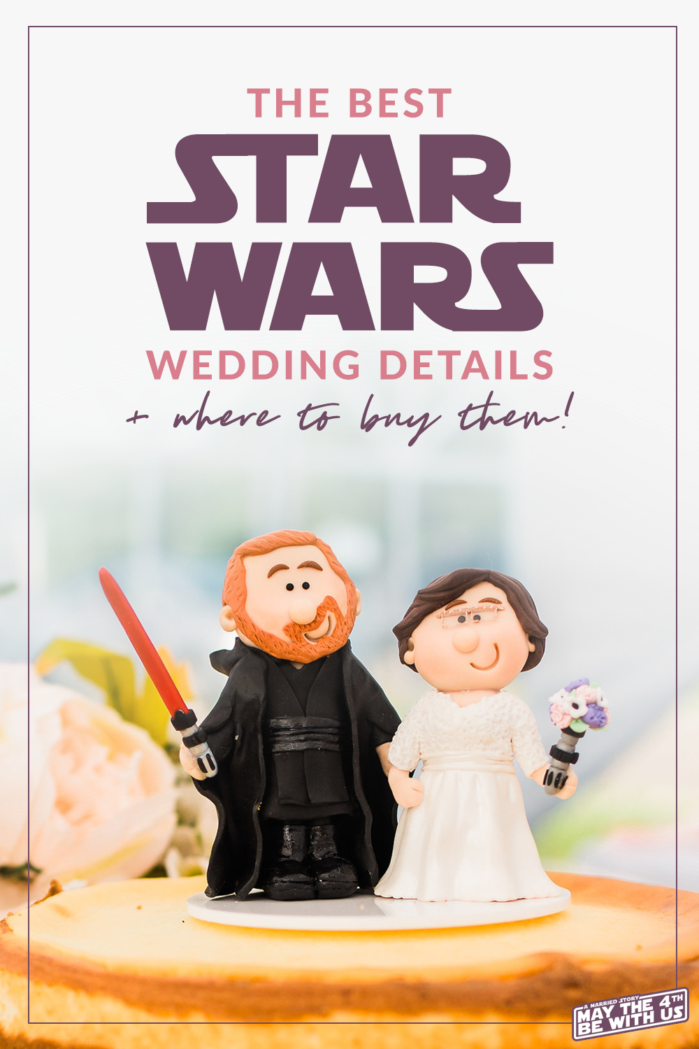 Star Wars Wedding Details and where to buy them