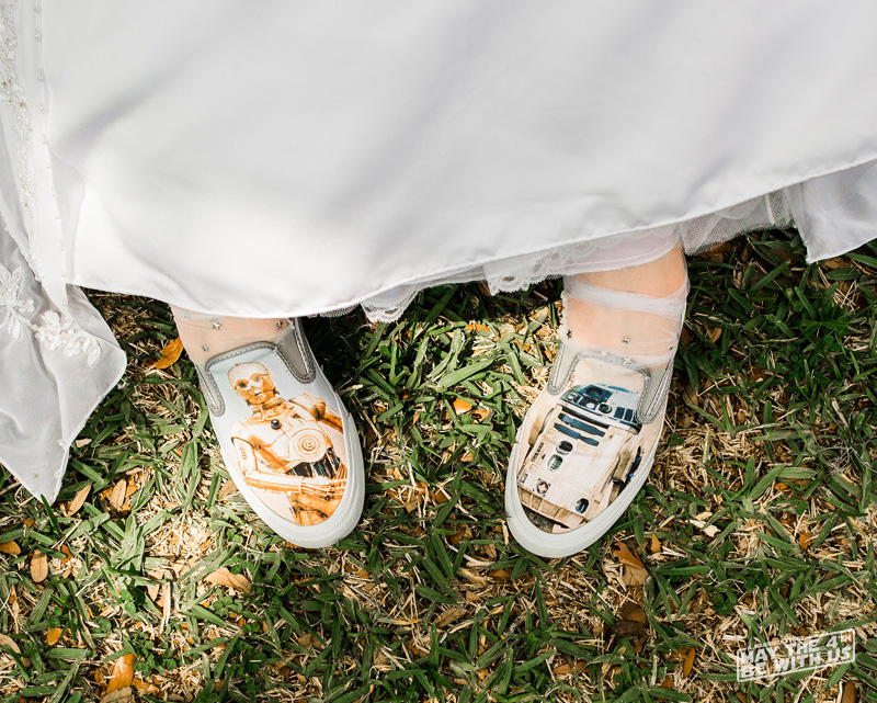 Star Wars inspired Wedding Shoes