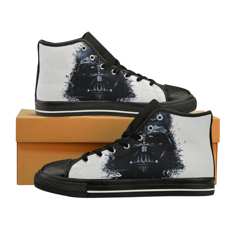 Star Wars shoes Darth Vader high tops Star Wars sneakers